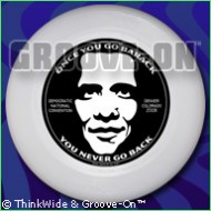 Barack Obama Flying Disc [Frisbee]