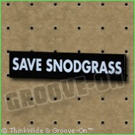 Ski Snodgrass Bumper Sticker